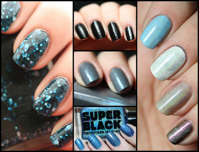 Super Black Lacquers Swatches & Review | Click through for more info + photos - http://www.manicurity.com/2013/05/super-black-lacquers-swatches-review.html