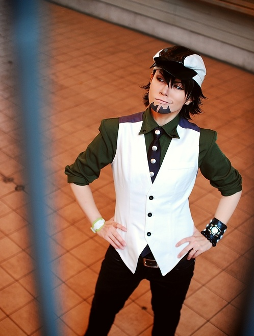 How awesome is Camuirui as Tiger & Bunny's Kotetsu? Photo by 恭輔.