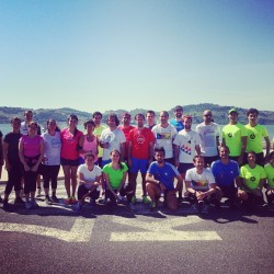 More than 35 runners join the Correr Na Cidade training with Correr Lisboa. Thank you all! #corrernacidade_crew #scalabis #running #runningculture #skymag @correrlisboa  #werun #crewlove