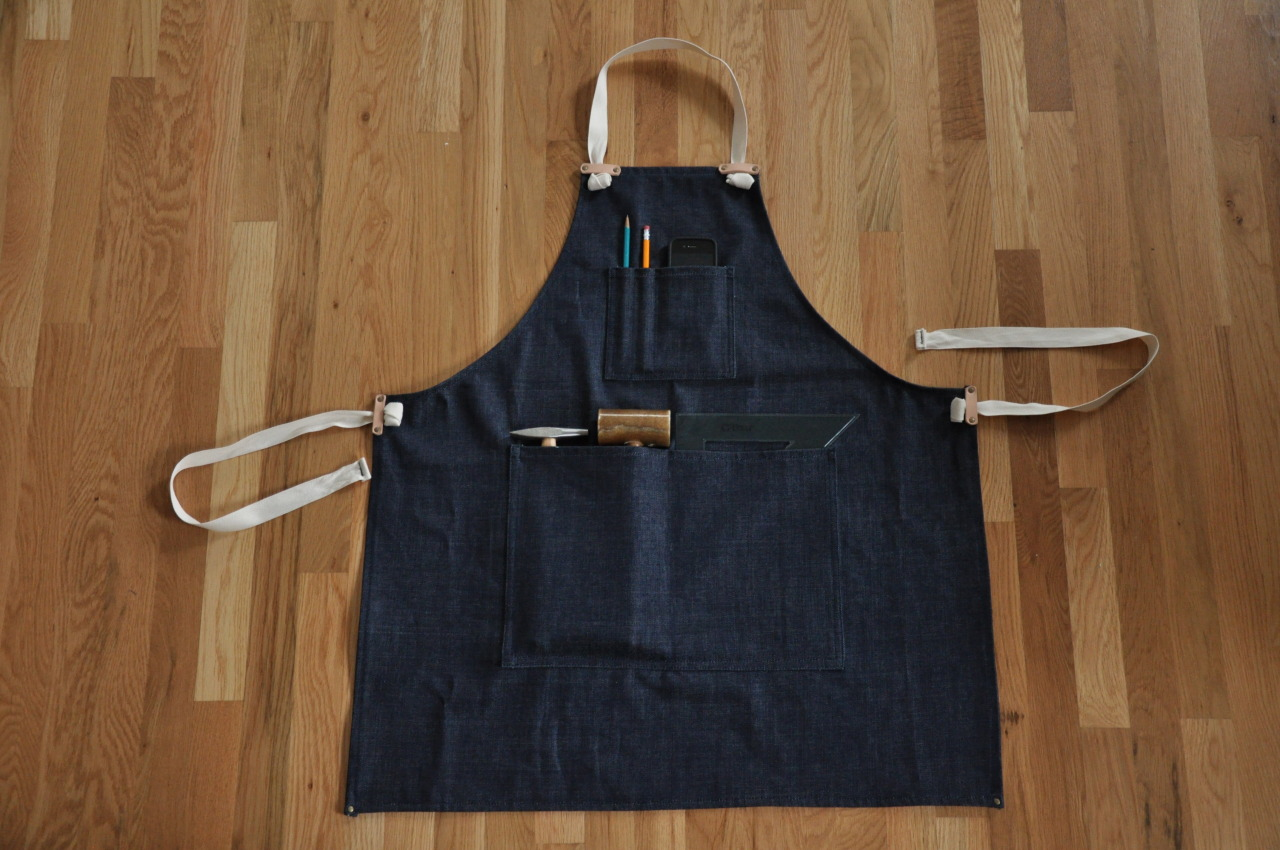 Handcrafted aprons are now for sale in the Those Who Make shop