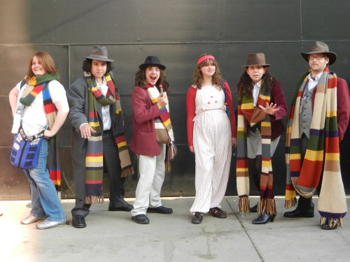 addaline:  Fourth Doctor and Companions at ACEN Saturday photo shoot