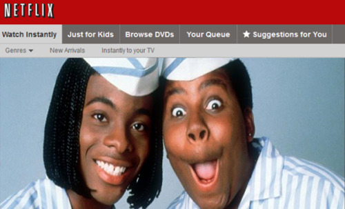 "f-ckyeah1990s:  Kenan and Kel to reunite for a ""Good Burger"" sequel. The sequel will be produced by Netflix, and be an exclusive made for Netflix feature film. Read the full story here  Haha April fools!"