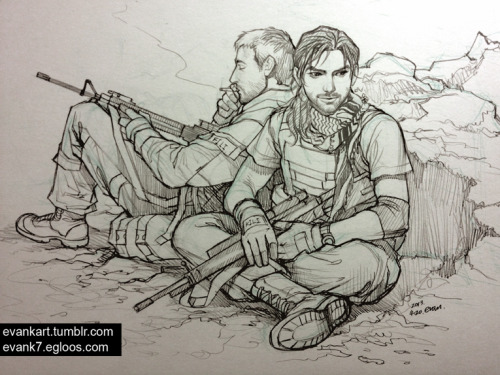 evankart:  Doodle: Fili and Kili modern AU (large size) I'm waiting for the first train to go home…again. After that going to do my weekend part time job. haha.. See you on Sunday! :-D  This is one fantastic picture and AU.
