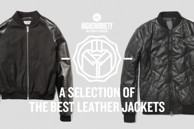 highsnobiety:  The quest to find the perfect leather jacket is ongoing. To find the perfect cut and fit, to find the one that ticks all the boxes for this seasons trends, to find the one that makes you look a bit more like Ryan Gosling (try it with just a t-shirt underneath, this usually helps). But when you've found one, that's when you can really sit back and appreciate the curation of your wardrobe. Where it will hang proudly forever more, only getting better with age and aiding the look of all your outfits until the end of time. (Or until we next post A Selection of The Best Leather Jackets and you find another one you like.) Take a look after the jump at the ones we're most coveting...  Lot 78 Quilted Bomber jacket gracing HighSnobiety's latest buyers guide. Along side Saint Laurent, Acne, Dolce & Gabbana, and others.