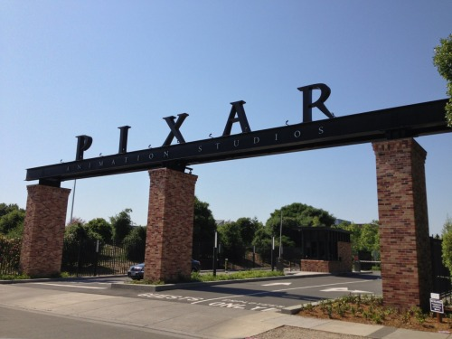 We figured if we're gonna be in San Fran, we have to see Pixar Animation Studio!