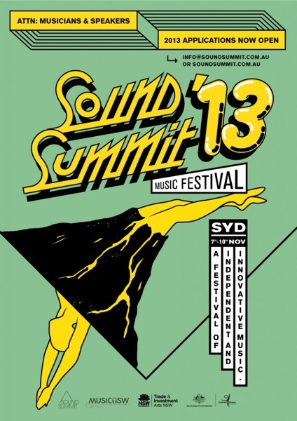 Sound Summit (for better or worse) is in Sydney this year and applications are open now.
