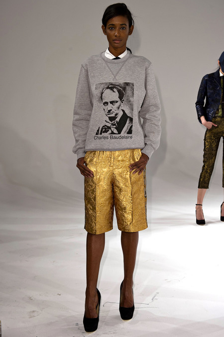 We approve of this Ostwald Helgason Baudelaire Sweatshirt.