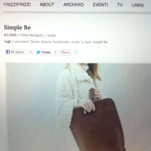 blog-simple-be:  Simple be on frizzifrizzi.it!
