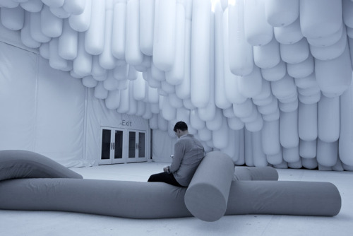 Snarkitechture: Drift (2012)  Snarkitecture is a collaborative practice operating in territories between the disciplines of art and architecture. Established by Daniel Arsham and Alex Mustonen, Snarkitecture aims to make architecture perform the unexpected.