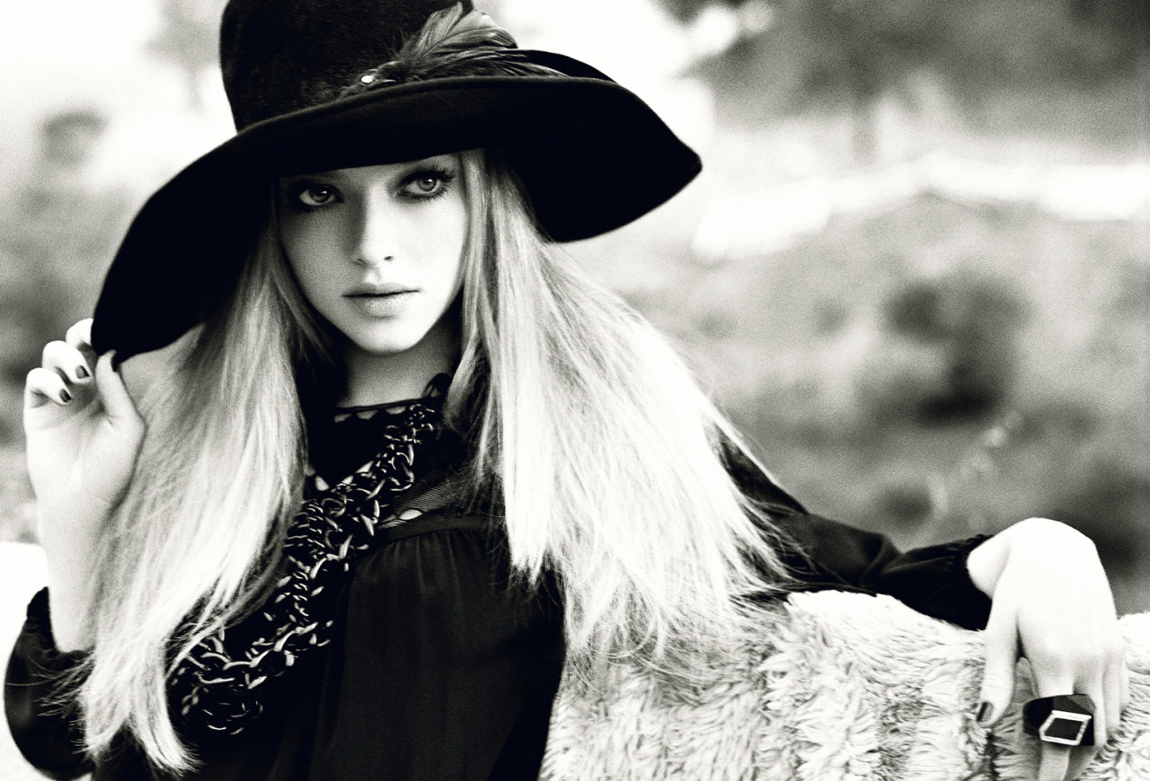 Amanda Seyfried - Allure by Norman Jean Roy, September 2009