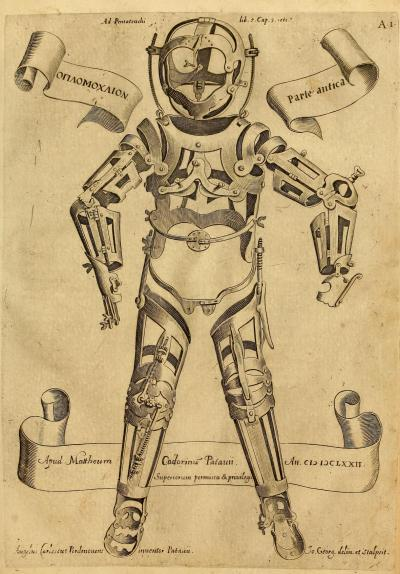 surgical appliances, 1671