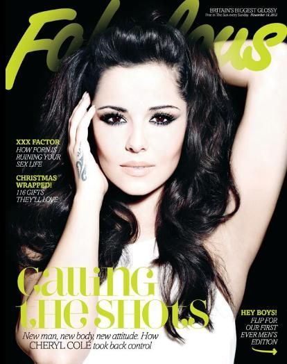 hollygossip:  Fabulous Cheryl Cole on the cover of FABULOUS Magazine