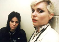superseventies:  Joan Jett and Debbie Harry