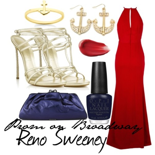 Prom on Broadway Reno Sweeney- Anything Goes Made by Sam