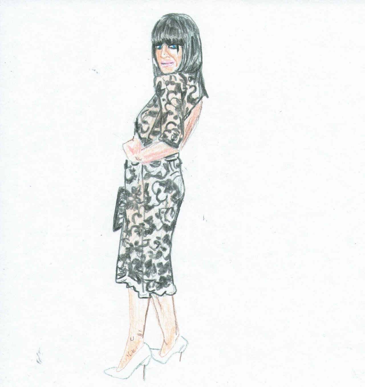 Claudia Winkleman at the BAFTA TV Awards 2013
