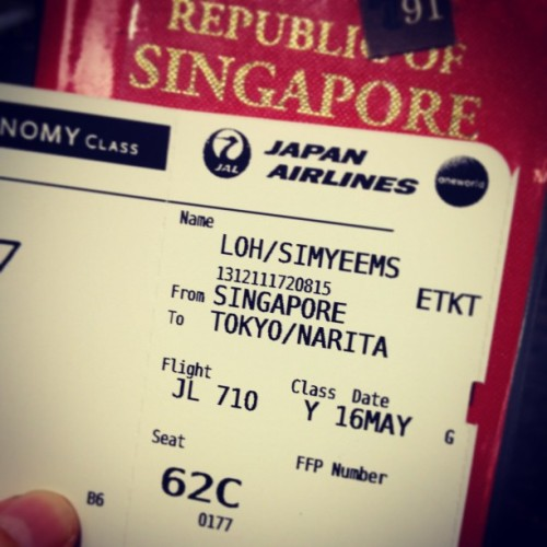 Japan, I'm coming! Lets go REXAZ!!! #CAIO ✈🇯🇵 (at Terminal 1)