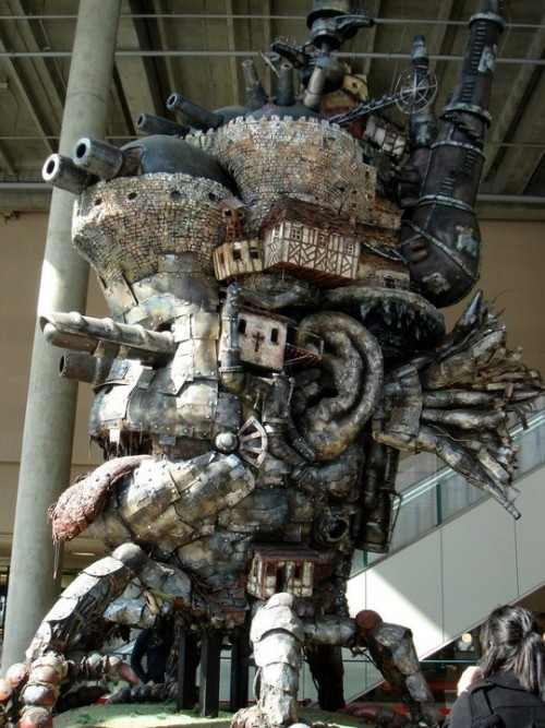 techfdr:  Howl's Moving Castle Replica