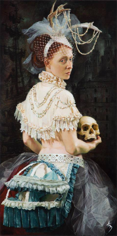 the-owls-are-not-what-they-seem:  Alexandra Manukyan