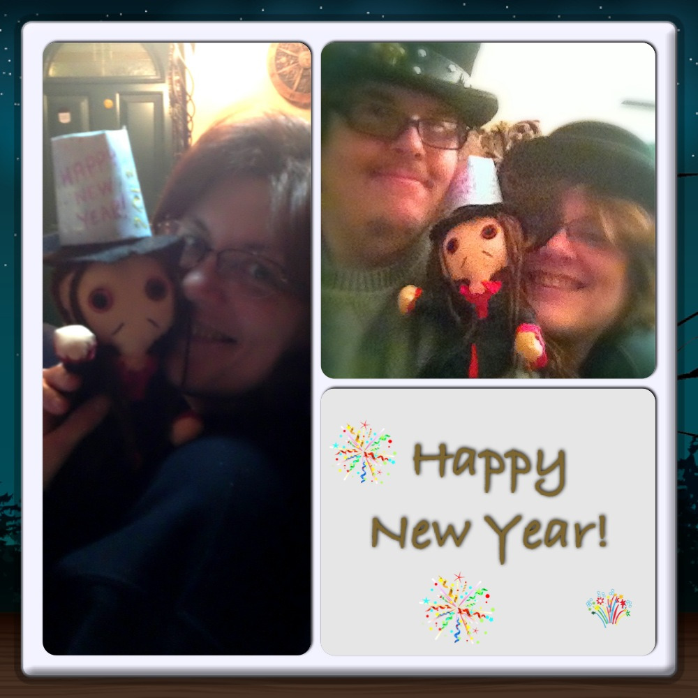 Happy New Year from me and the two loves of my life ;)  Thank you all for following me over the past year :D Hope we all have a good 2013!