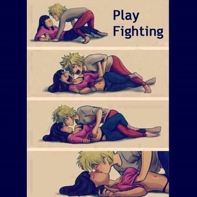 Play Fighting …