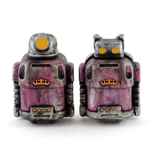 ToyCon Exclusives / Postal Sprogs / Pink (by Cris Rose)