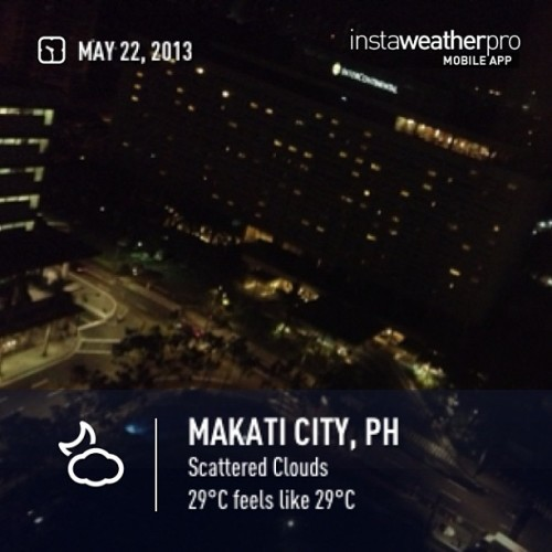 Good Evening Makati City! (at Ascott Makati)