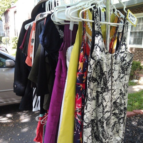 #Summer #dresses anyone?? #yardsale holla atcha gurl