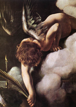 The Martyrdom of St Matthew (detail) 1599 -1600 by Michelangelo Merisi da Caravaggio
