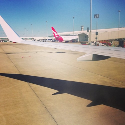 See you later Brisbane! ✈ #travel #brisbane #australia #plane