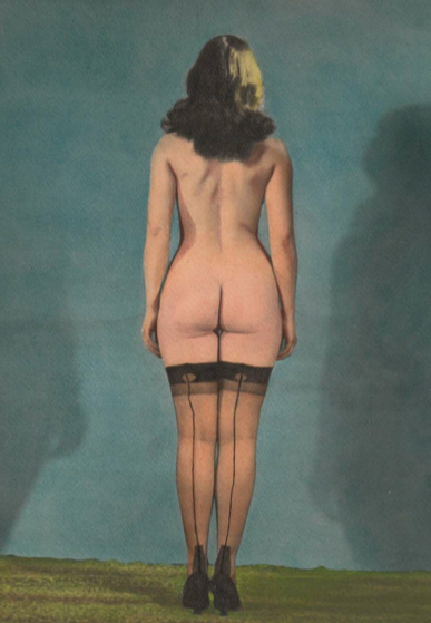 Bettie Page Perfect from Behind   Original Photograph collection Victor Minx circa 1955 from the Book (and ebooks $5.99) Camera Club Girls: Bettie Page, her Friends and the Work of Rudolph Rossi.