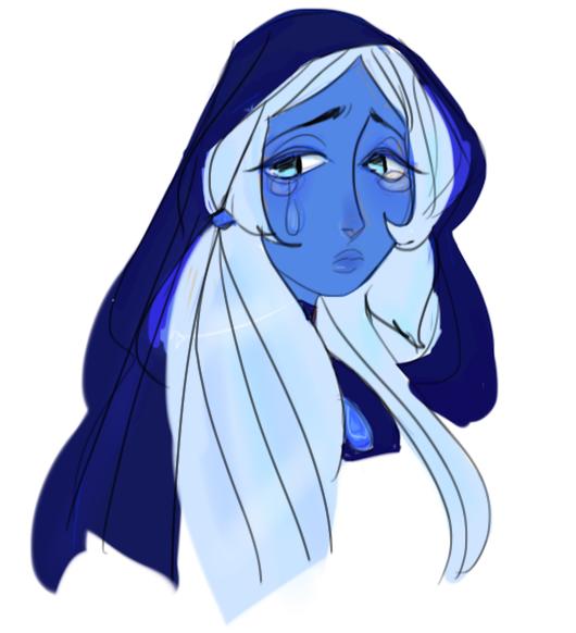 doodle for sad diamond