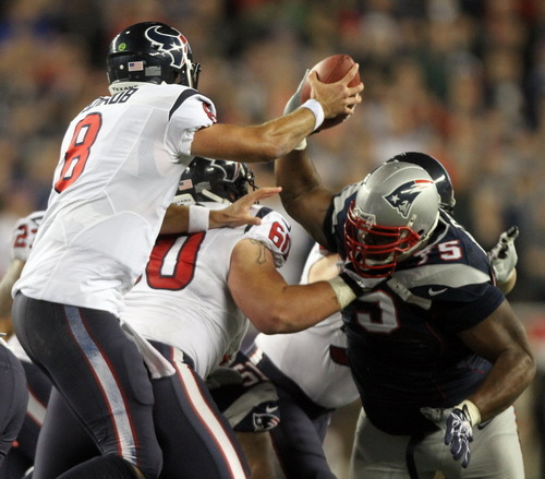 Week 14 Classic: @Wilfork75 Causing Havoc on Monday Night Football