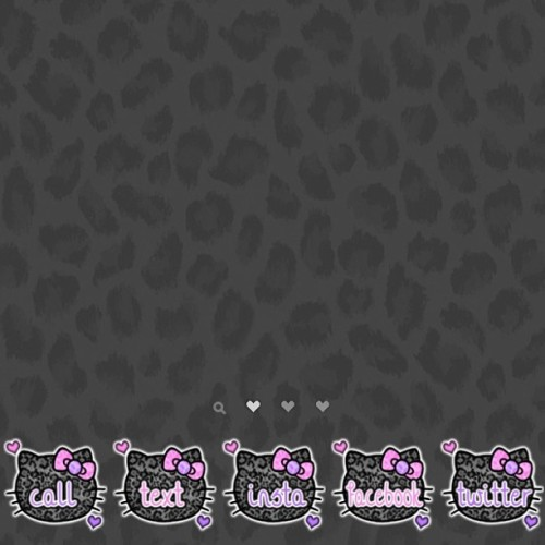 New hello kitty icons @ jailbreakthemes.com <3 #jailbreak #jailbreakthemes #cydia #evasi0n #hellokitty #icons #themes #winterboard