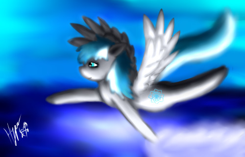 askhyperpaint:  here is some more fan art of chillyflake i wasn't happy with the 1st one i did so i did this one how you like it chillyflake http://ask-chillyflake.tumblr.com/  So beautiful ;u; I look… just so beautiful ;u;