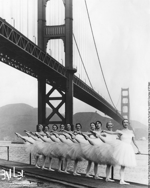 San Francisco has changed a little since these lovely ladies posed under the  Golden Gate Bridge… so we asked our fans to help us create this Ballet Fans' Guide to SF! Read it on our blog: http://www.sfballetblog.org/guidetosf Tell us: did we miss anything?