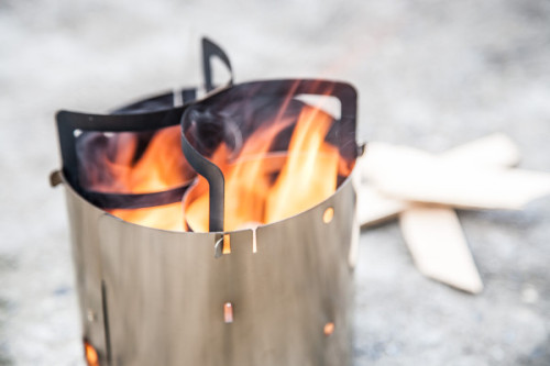 (via Collapsible Stainless Steel Camp Stove By Kent Hering - Design Milk)