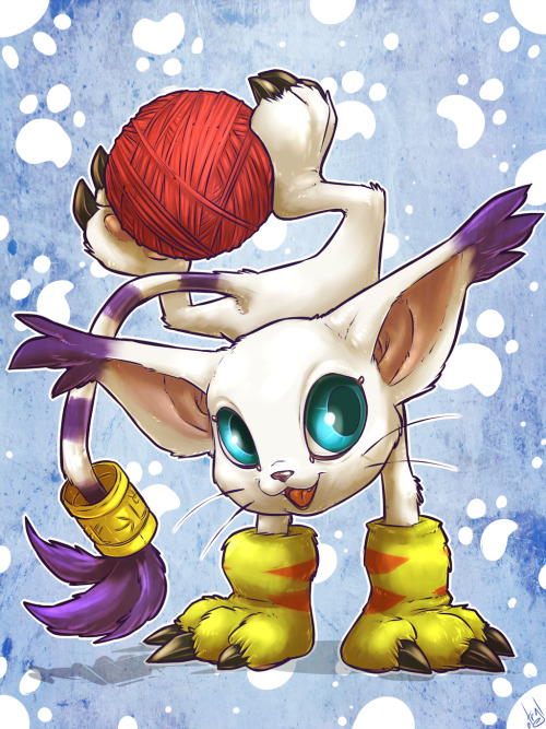 Gatomon by *atryl