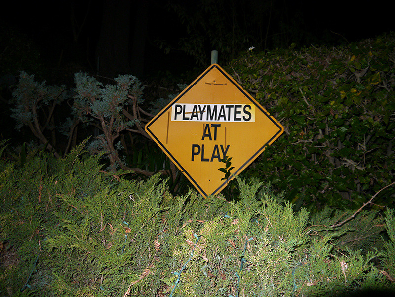 "I Went to the Playboy Mansion (and It Was Kinda Depressing) A couple of weeks ago I was invited to the Playboy mansion for a screening of that new Jennifer Lopez/Jason Statham movie, Parker. I don't usually go to press screenings because it's much easier to download the movie and watch it at home and not have to talk to other people, but I'd literally wanted to visit the Playboy mansion ever since I'd found out it was an option for me several seconds earlier. So I HAD to go.   Before the screening there was a reception featuring drinks and ""photo opportunities"" with some Playboy Playmates™® in the mansion's main entry hall.   Hugh was supposed to be in attendance too, but he was sick. So we had to make do with this thing.   The screening was held in the drawing room. Here's an exclusive sneak preview of it. This is from a scene where (SPOILER ALERT!!!!) Jason Statham hits someone with something.  Right after I took this picture, I whispered something to the girl sitting next to me and a guy wearing a suit with Converse shoes came over and told me off for being too loud. A suit with Converses is my least favorite look ever. Do you have any idea how humiliating it is to be yelled at by someone wearing an outfit that was last acceptable on Tom Green at the 2003 Nickleodeon Kid's Choice Awards? Horrifying. I needed to get out of there, so I decided to ""get lost"" while trying to find the bathroom, and see how long I could wander around the mansion before someone made me go back to the movie.   The first thing I did was go find a bathroom to poop in. I didn't even need to, really. But how often do you get a chance to poop in the Playboy mansion? This is what you get to see while you're pooping there, if you were wondering.   After pooping, I started to notice how crappy everything was. Am I an idiot for thinking the mansion would be nice? I figured it would at least be a little bit fancy. That was the main reason I'd wanted to visit—I'm gay, btw. Wait, are straight people even into the women in Playboy anymore? Or did that stop in the 90s? Wait, how does Playboy still exist now that the internet exists? Who on Earth is buying the magazine? The kind of person who wears a suit with Converses, probably. Anyway, this is less nice than my bathroom at home. I keep my air freshener in a cupboard and everything. Continue"