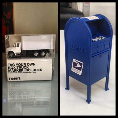 Now online! #tyotoys diy box trucks & #USPS #mailboxes! Pretty awesome right!? #designervinyl #designervinyltoy #designervinyltoys #vinyltoy #vinyltoys #vinyl #urbanart #urbantoy #urbantoys #urban #art #arttoy #arttoys #artstagram #graffiti #boxtruck #vandalvans #sharpie #minidropbox #handstyle #tagthatshit #customvinyl #yournamehere @philfoss