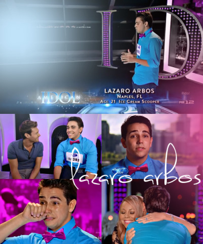 bitchier:  My favorite season 12 American Idol auditions: Lazaro Arbos.   This guy seriously inspires me, HE'S AMAZING