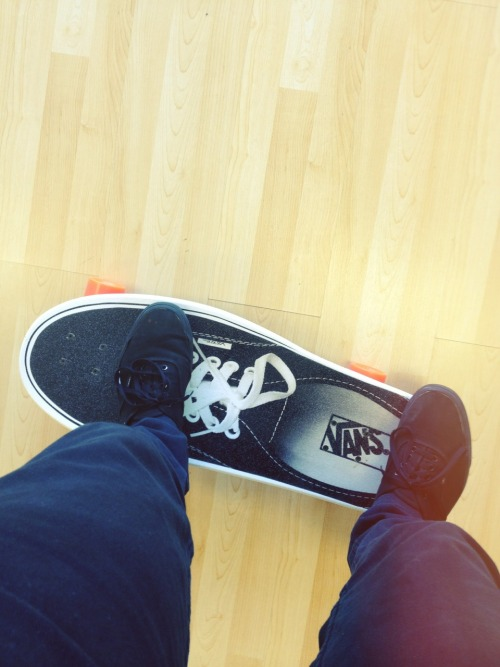 our customers bring the raddest gifts. brb gonna go skate in the shop.