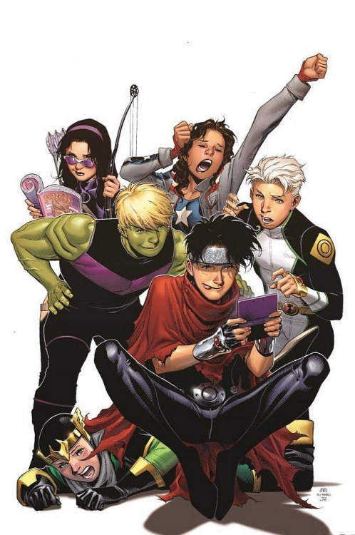 fyeahlilbit2point0:  Young Avengers #5