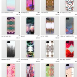 More cases!!! http://society6.com/ninajoy/cases