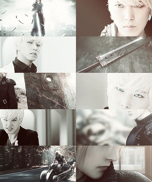 Sungmin as Cloud » Super Junior x Final Fantasy crossover for shyseoul