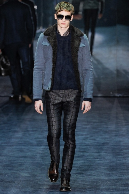 yuanzeng:  Gucci Fall 2012 Menswear  Those pants!