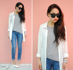 lookbookdotnu:  Simple easy (by Meijia S)