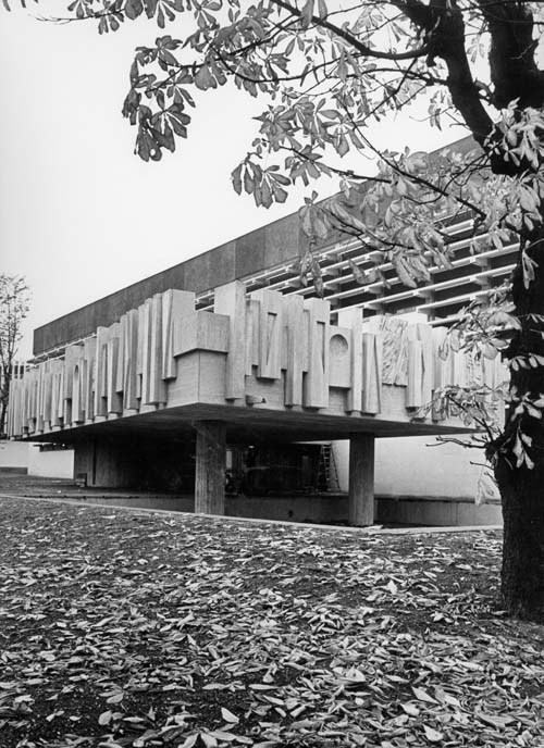 Swiss Cottage Community Centre,  c.1960, William Mitchell