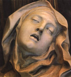 Gian Lorenzo Bernini Ecstasy of Saint Teresa (detail)