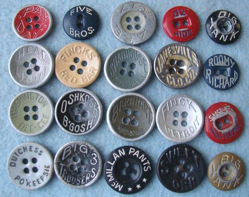 Workwear Buttons III