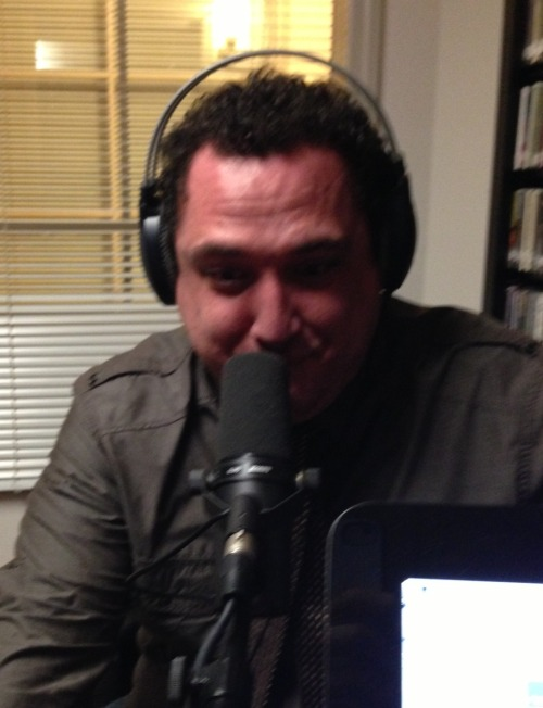 "butttalk:  New episode with comedian Nick Turner comes out Tuesday! Here's a picture of him ""farting out"" the episode."